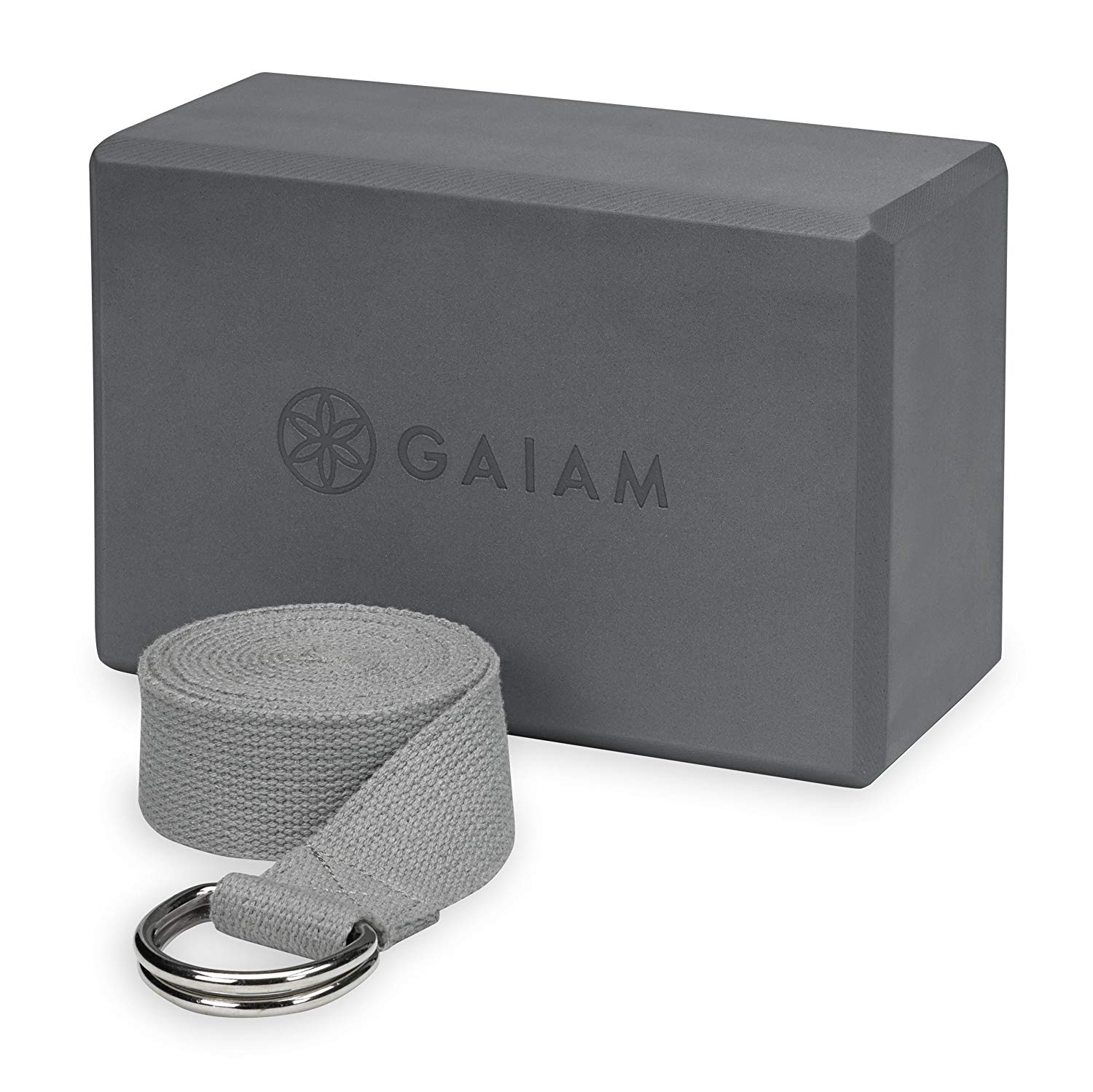 Gaiam Strap and block combo