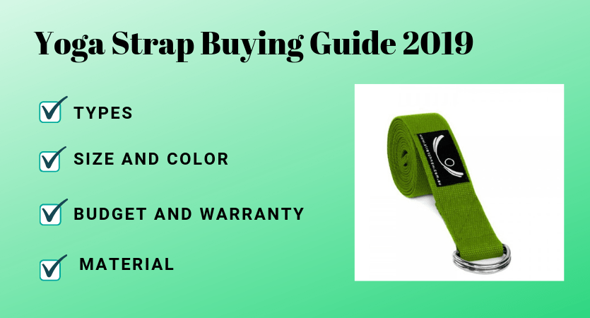 Yoga Straps Buying Guide