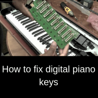 How to fix digital piano keys