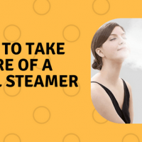 How to take care of a facial steamer
