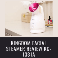 KINGDOM FACIAL STEAMER REVIEW KC-1331A