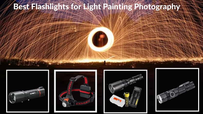Best Flashlights for Light Painting Photography