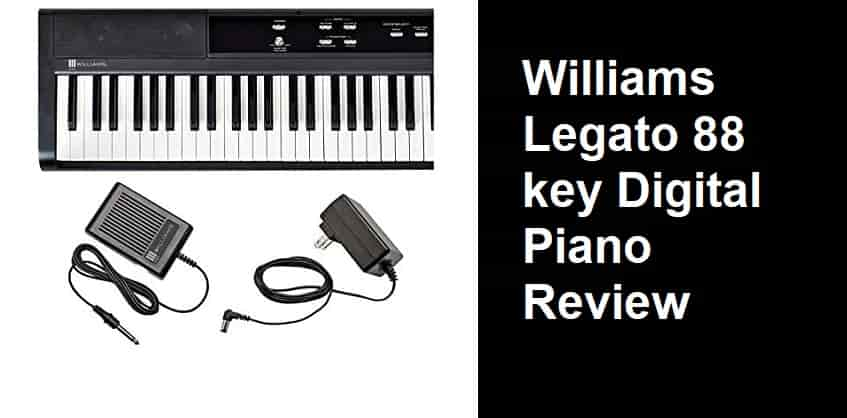 williams legato 88 key