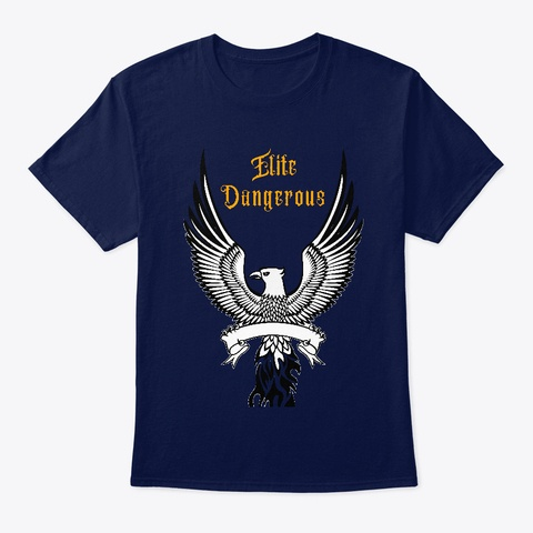 Elite Dangerous T-shirt Blue