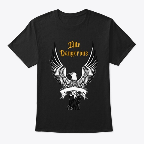 Elite Dangerous T shirt Black