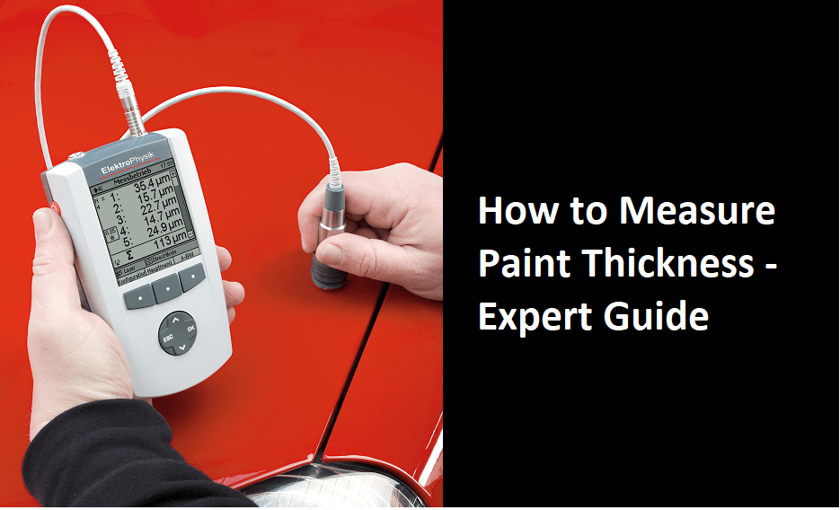 how to measure paint thickness on a car