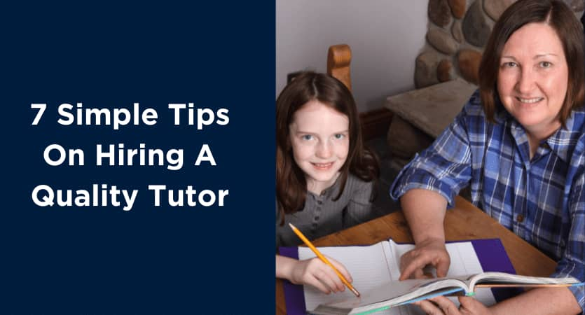 tutor hire tips